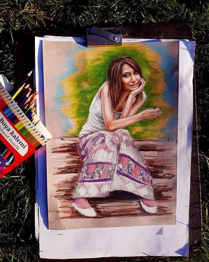pastel portre istanbul ankara sanat resim kadıköy tattoo atatürk