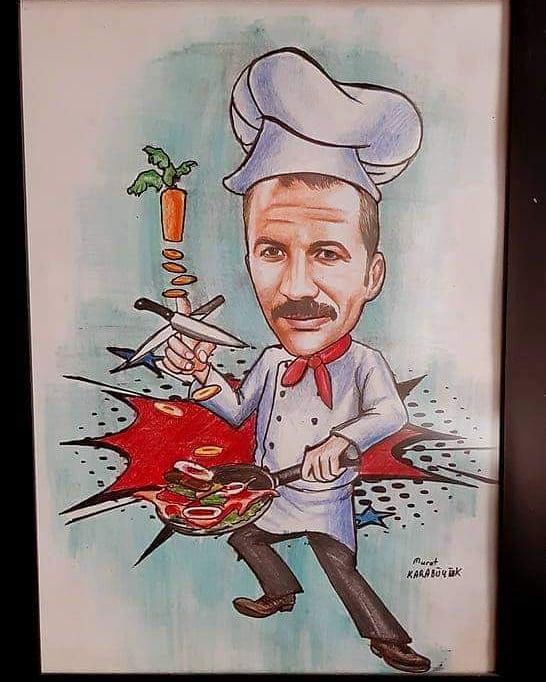 karikatür portre hediye istanbul ankara komik sanat kadıköy 1