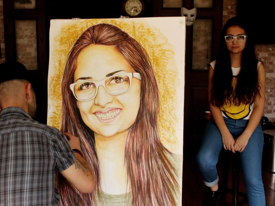 pastel portre çizim istanbul ankara sanat kadıköy resim hediye ressam 23