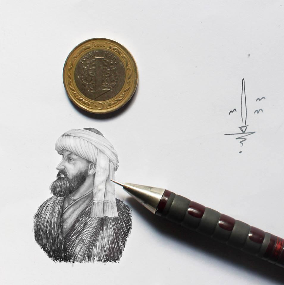 karakalem portre çizim istanbul ankara sanat kadıköy tattoo resim hediye 1