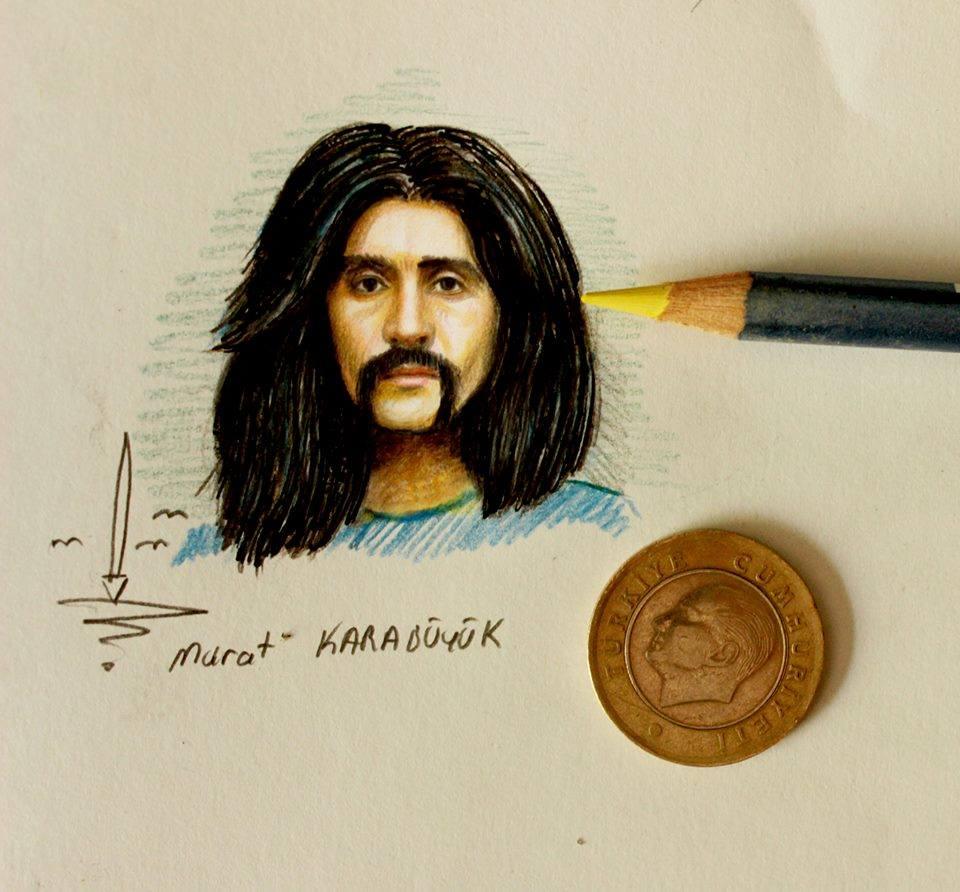karakalem portre çizim istanbul ankara sanat resim hediye 1