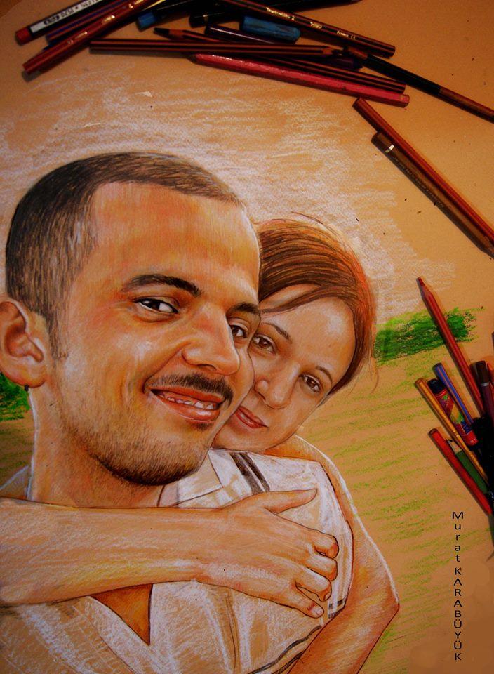 pastel portre çizim istanbul ankara sanat kadıköy resim hediye ressam 21
