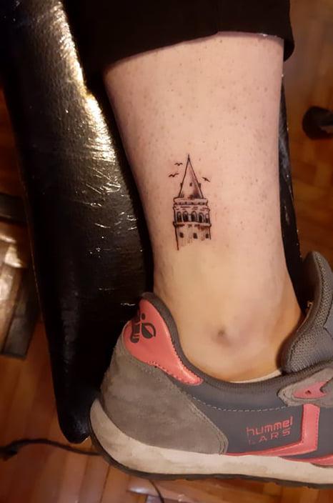 tattoo kadıköy istanbul tatto kalıcı dövme ressam galata kulesi