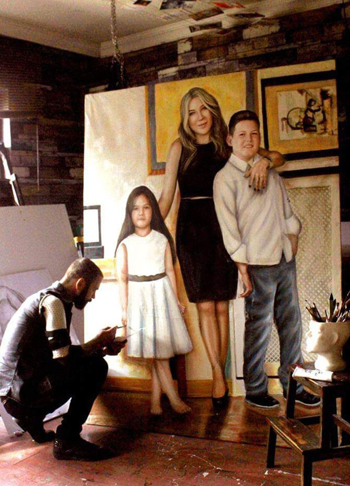 Yağlıboya Portre Çalışmaları - Sanatsal Hediyeler İstanbul ümraniye pendik galata nişantaşı bebek 123456