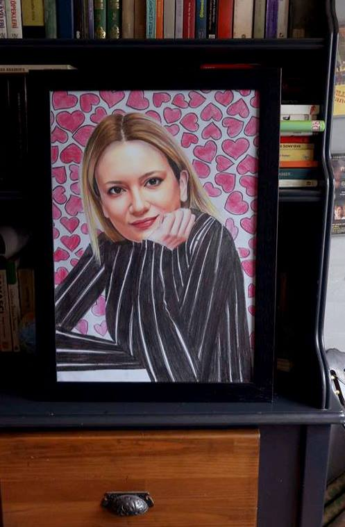 pastel portre çizim istanbul ankara sanat kadıköy resim hediye ressam 17