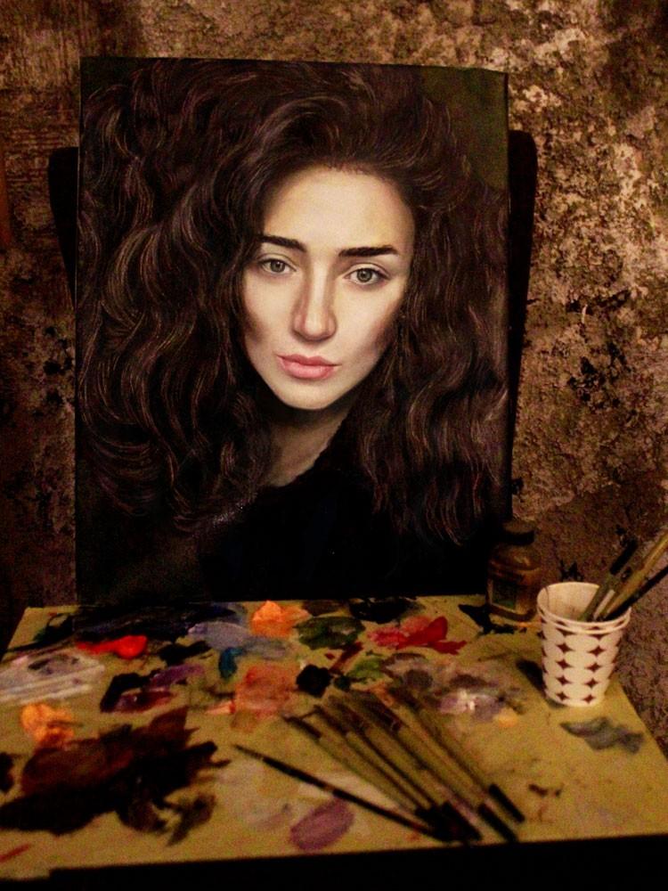 Yağlıboya Portre Çalışmaları - Sanatsal Hediyeler İstanbul ümraniye pendik galata nişantaşı bebek 1234