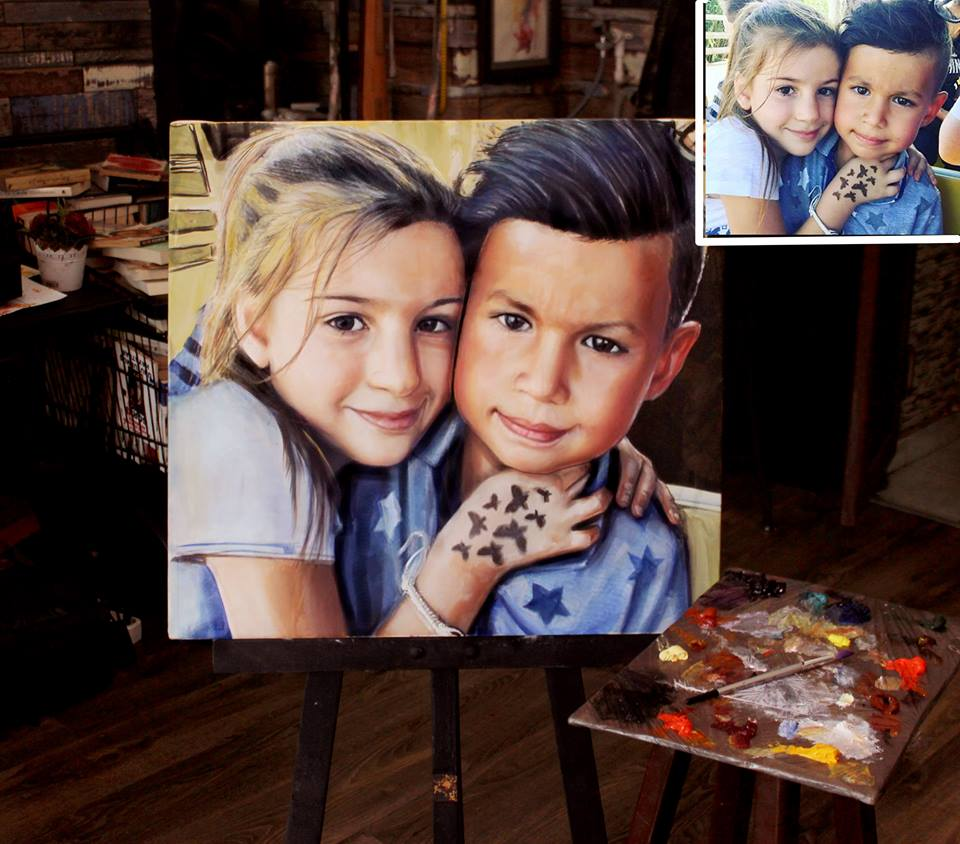 Yağlıboya Portre Çalışmaları - Sanatsal Hediyeler İstanbul ümraniye pendik