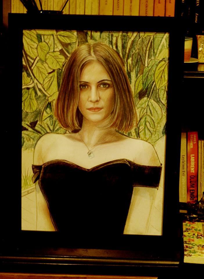 pastel portre çizim istanbul ankara sanat kadıköy resim hediye ressam 14