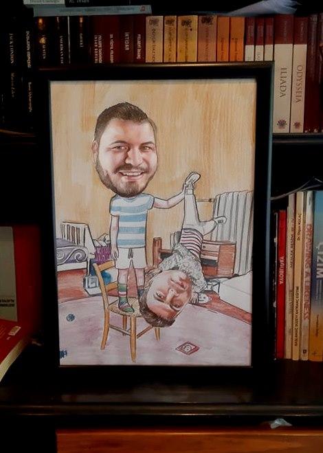 karikatür portre hediye istanbul ankara komik sanat kadıköy 6