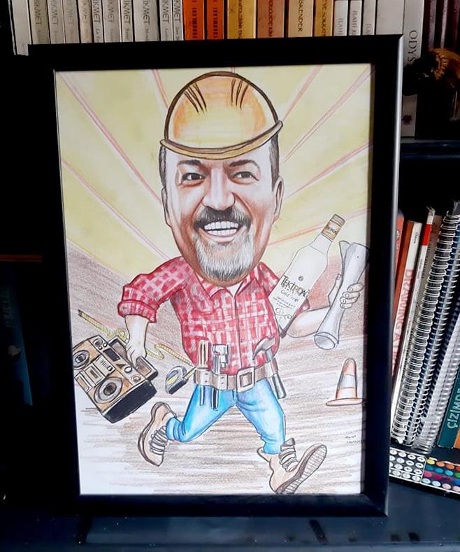 karikatür portre hediye istanbul ankara komik sanat kadıköy 12