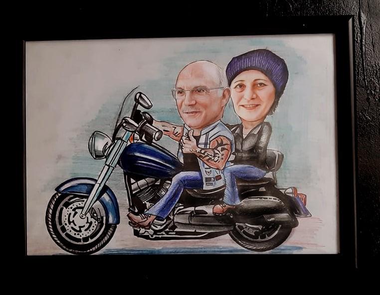 karikatür portre hediye istanbul ankara komik sanat kadıköy 4