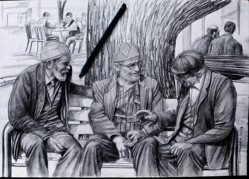 Karakalem Portre Sevgili Hediye İstanbul ankara sanat resim güzel sanatlar 17