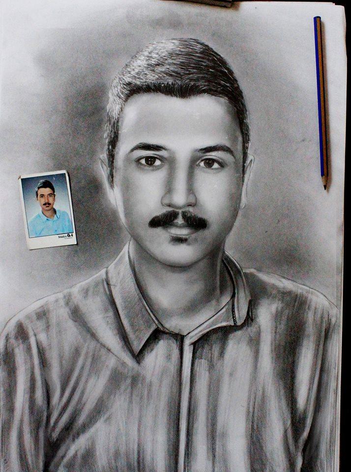 Karakalem Portre Sevgili Hediye İstanbul ankara 37