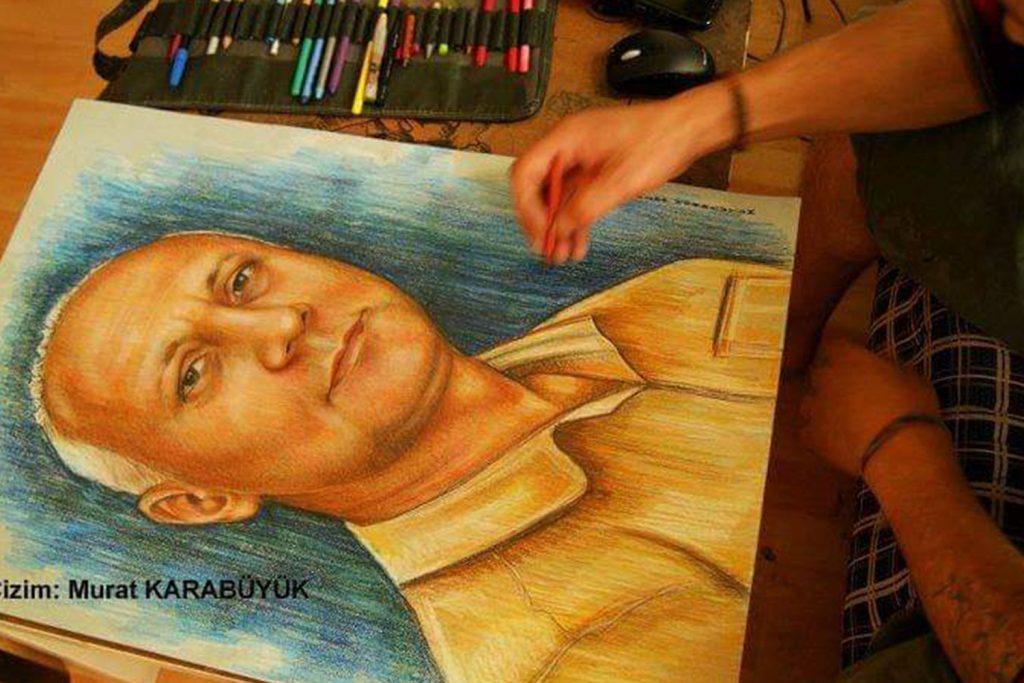 pastel portre çizim istanbul ankara sanat kadıköy resim hediye ressam 11