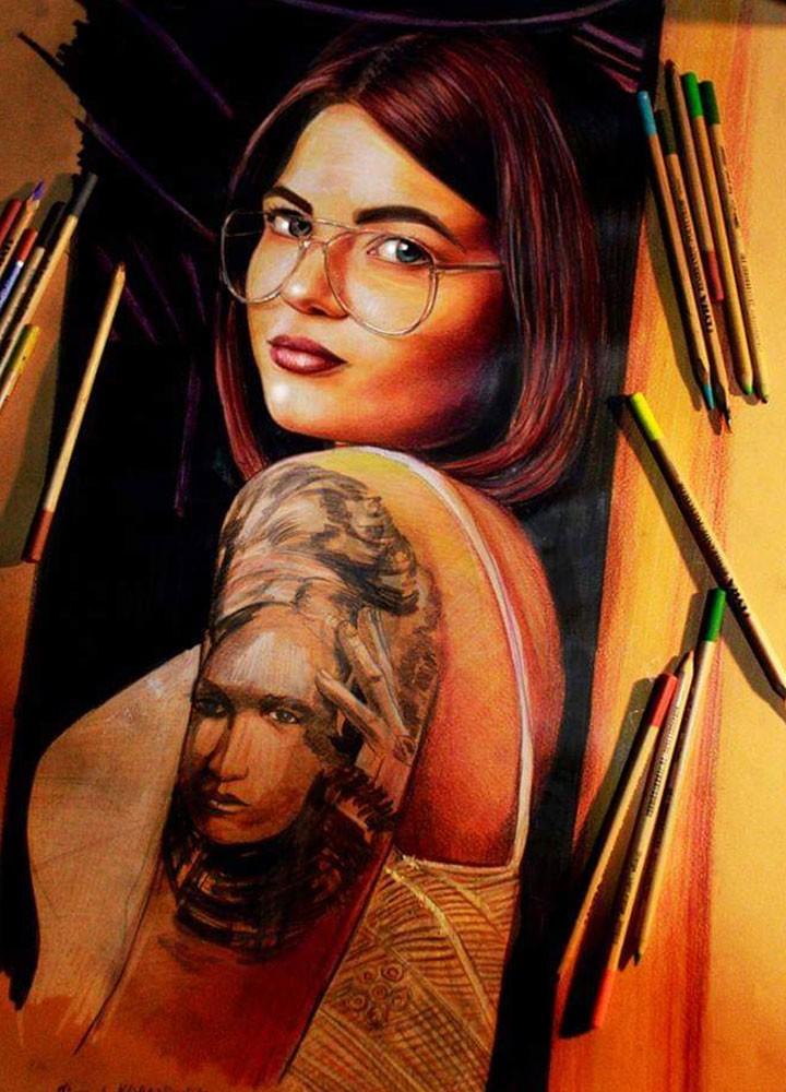pastel portre çizim istanbul ankara sanat kadıköy resim hediye ressam 4