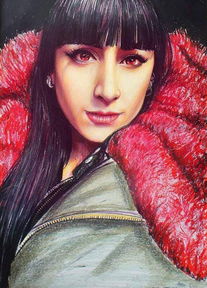 pastel portre çizim istanbul ankara sanat kadıköy resim hediye ressam