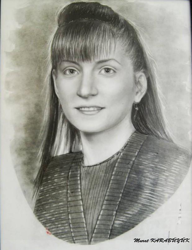 Karakalem Portre Sevgili Hediye İstanbul ankara 64