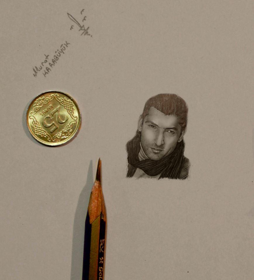 karakalem portre çizim istanbul ankara sanat resim hediye