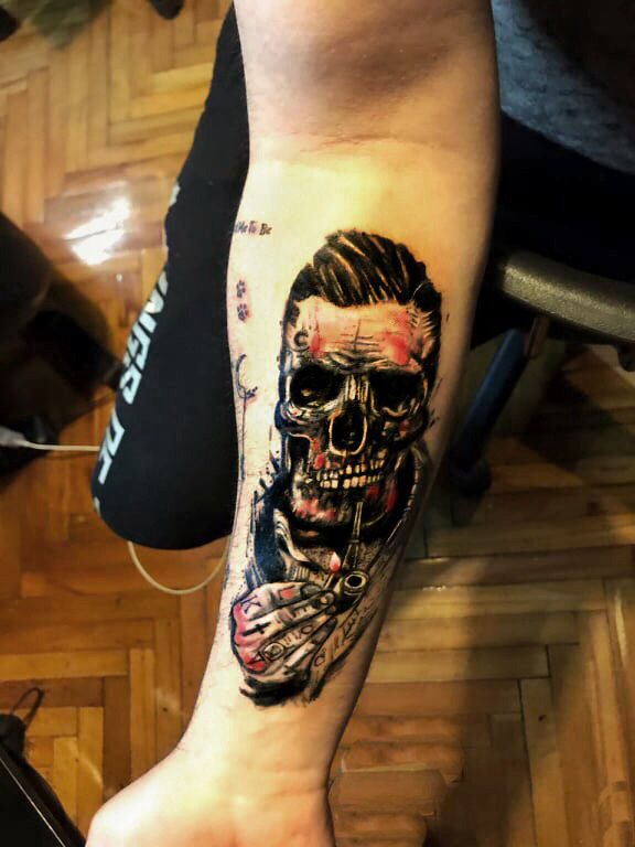 tattoo kadıköy istanbul tatto kalıcı dövme ressam kuru kafa