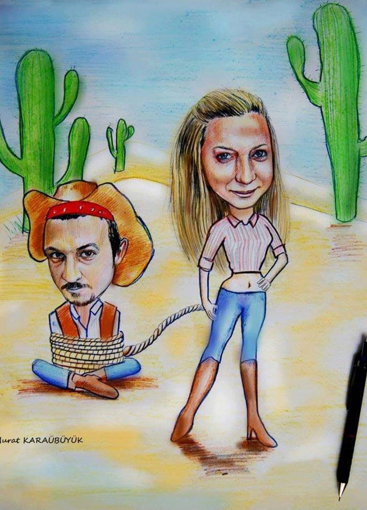 karikatür portre hediye istanbul ankara komik sanat kadıköy 16