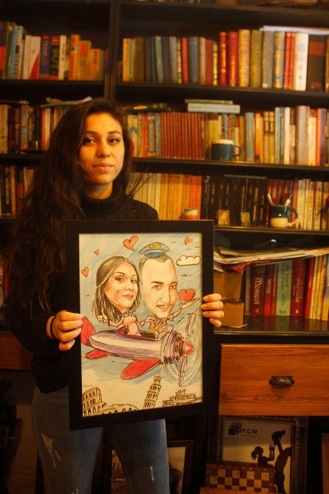 karakalem portre karikatür çizim istanbul ankara sanat kadıköy tattoo resim hediye yağlıboya pastel ressam 2