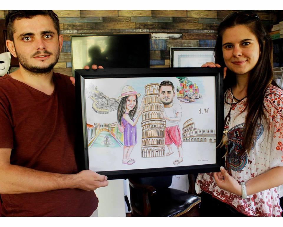 karakalem portre karikatür çizim istanbul ankara sanat kadıköy tattoo resim hediye yağlıboya pastel ressam 8