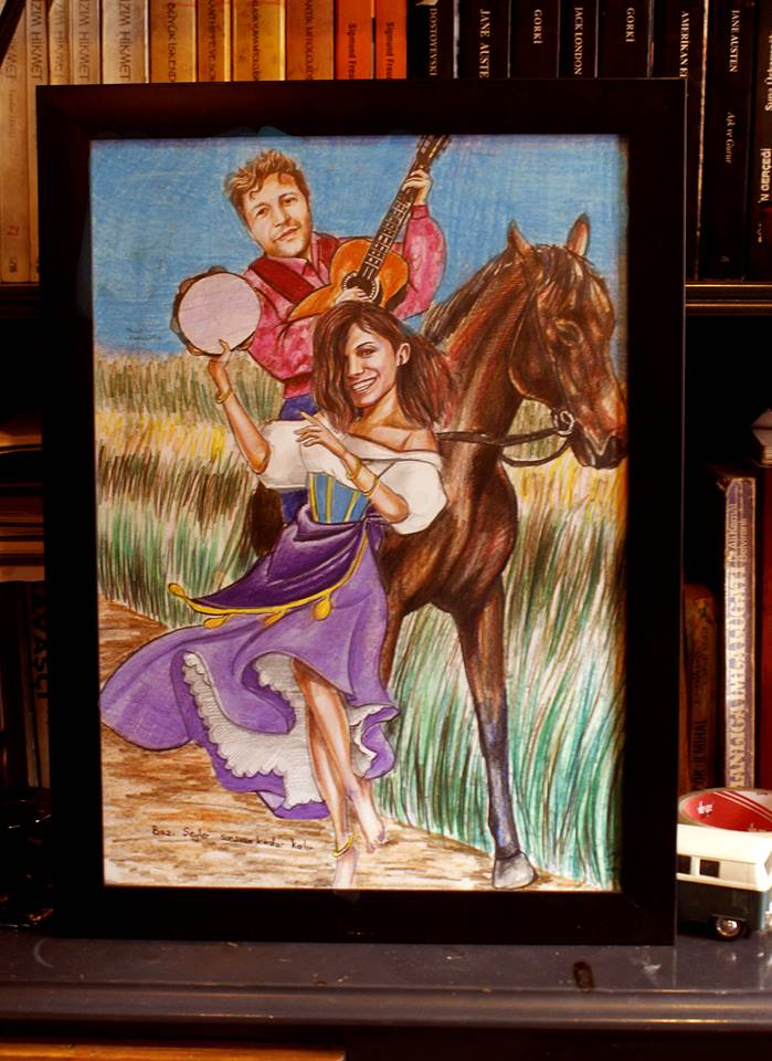 karakalem portre karikatür çizim istanbul ankara sanat kadıköy tattoo resim hediye yağlıboya pastel ressam