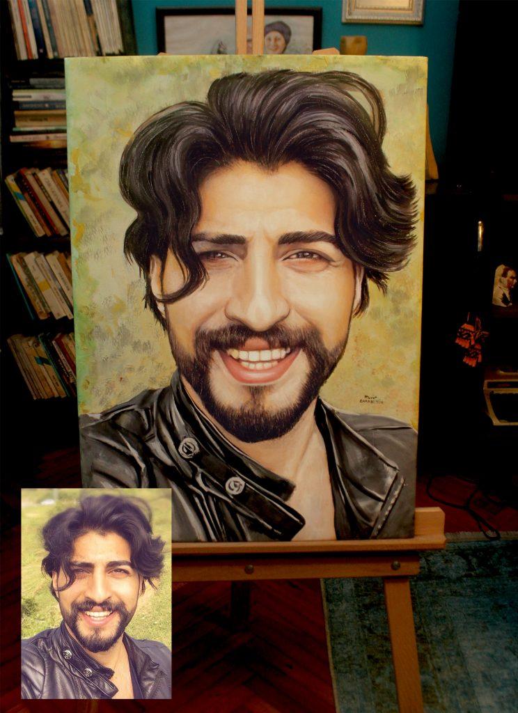Yağlıboya Portre Çalışmaları - Sanatsal Hediyeler İstanbul 1
