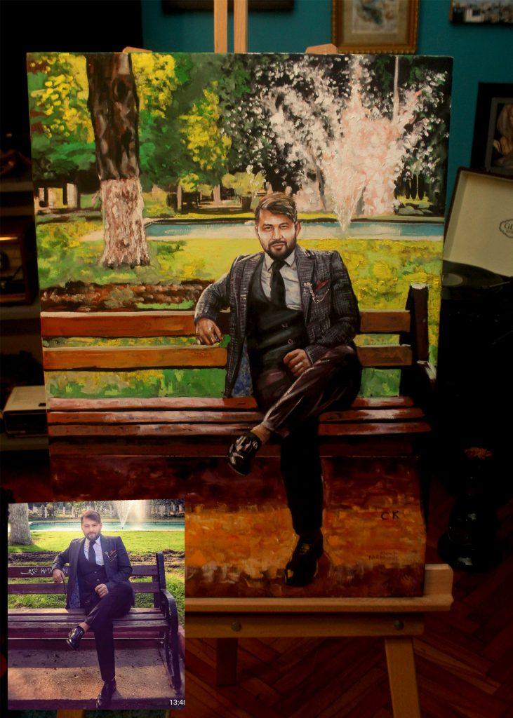 Yağlıboya Portre Çalışmaları - Sanatsal Hediyeler İstanbul 7